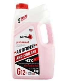 NOWAX ANTIFREEZE G12+ RED 5л