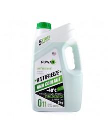 NOWAX ANTIFREEZE G11 GREEN 5л